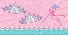 PRINCESS PARTY PLASTIC TABLE COVER ~ Birthday Supplies Decorations Cloth Pink