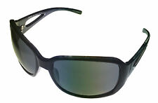 Esprit Sunglass 19394 538 Black Modified Rectangle Plastic, Smoke Gradient