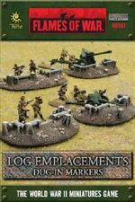 Flames of War: Log Emplacements - Dug-in Markers BB107
