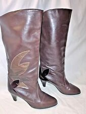 Peter Kaiser Women's Brown Leather German Boots Size 6 US