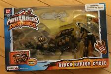 Power Rangers DINO THUNDER BLACK RAPTOR CYCLE USED