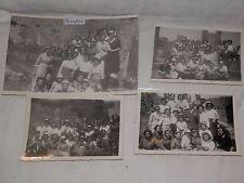 vecchie foto di gruppo GITA AGLI SCAVI DI POMPEI scolaresca 27 maggio 1951 epoca