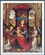 GHANA 1981 CHRISTMAS RELIGIOUS PAINTINGS (MEMLING) S/S SC# 776  IMPERF (DEL04)