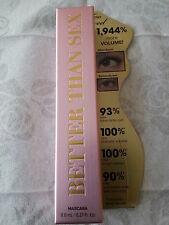 "New Full Size Too Faced ""Better than Sex"" Mascara"