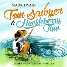 Audiolibro CD Tom Sawyer e Huckleberry Finn di Mark Twain aggiornato Versione