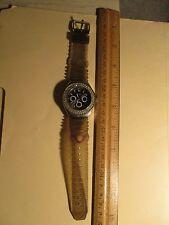 Preowned JALGA Womans Quartz Watch W/Rhinestone Face+ New Battery+ Works Great++