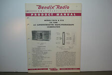 BENDIX RADIO SERVICE MANUAL MODELS 0656 656 (7 PAGES)