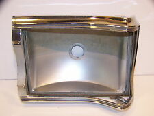 1967 PLYMOUTH BELVEDERE TAILLLIGHT HOUSING & BEZEL OEM I II SATELLITE LH 2606257