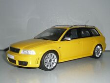 Audi rs4 a4 b5 avant Yellow 1:18 Otto models ot053 very rare