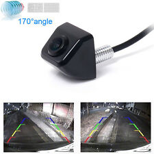 Black CCD Car Rear View Blind Spot Front Night Vison Back Reverse Parking Camera