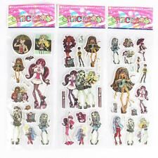 10 x MONSTER HIGH Stickers Party Bag Fillers Birthday party favours