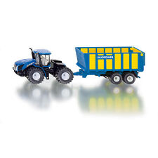 SIKU New Holland Knicklenker T9.560 Tractor with Silage Trailer * 1:50 scaleNEW