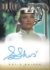 Outer limits sexe, cyborgs & science fiction, autographe A13 sofia Shinas