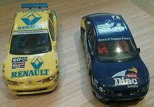 2 x HORNBY SCALEXTRIC SLOT RENAULT MEGANE RALLY AUTO