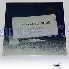 """LUCIO DALLA """"IL MOTORE DEL 2000"""" RARO LP 1992 SIGILLATO"""