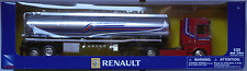 NewRay Renault Magnum AE500 Tank-Sattelzug rot/silbermet. 1:32 / Spur 1 Neu/OVP