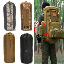 Outdoor Camping Molle Water Bottle Pouch Kettle Bag Pack Carrier Holder
