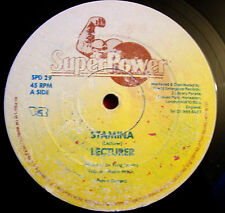 "Lecturer Stamina 12"" Dancehall Super Power SPD 29 King Jammy b/w Mix Up Girl+Dub"