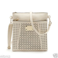 New Women Hollow Out Shoulder Bag Satchel Crossbody Tote Handbag Purse Messenger