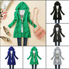 2016 Women Knitted Hooded Sweater Long Sleeve Knitwear Cardigan Coat Outwear Top