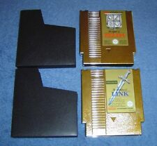* LEGEND OF ZELDA + ZELDA II - ADVENTURE OF LINK * 2 X NES GAMES - PAL A VERSION