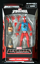 "SCARLET SPIDER MARVEL LEGENDS INFINITE SERIES SPIDER-MAN HASBRO 6"" ACTION FIGURE"