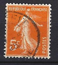 France 1921 type Semeuse fond plein Yvert n° 158 oblitéré 1er choix (2)