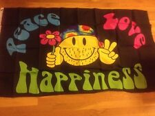 Peace Love Happiness Flag Peace flag Love Happiness fl