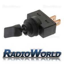 Black On/Off/On Duckbill Toggle Flick Switch SPDT Car Dash Light 12V 20A