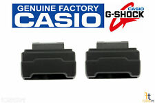 CASIO G-Shock GA-100 Black Rubber Cover End Piece Strap Adapter (QTY 2)