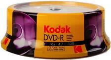 25 Kodak DVD-R 4.7GB 120Min 16x Rohlinge Spindel