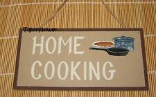 Wood Sign Plaque Decor Country Primitive HOME COOKING buy 2 get 1 free gift