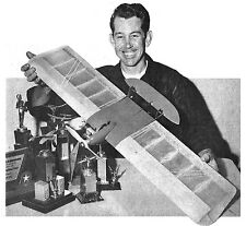 """Model Airplane Plans (UC): OKLAHOMA TWISTER 38½"""" Combat for .36 by Carl Berryman"""