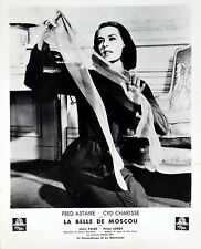 SILK STOCKINGS 1957 Cyd Charisse FRENCH LOBBY CARD