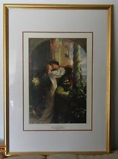 Beautiful & Romantic Romeo & Juliet By Sir Frank Dicksee (Professionally Framed)