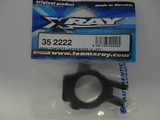 PARTS NEW XRAY  XB808 352222 Composite Caster Block 10deg LEFT