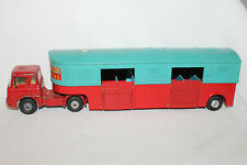 Corgi #1130 Chipperfields Circus, Bedford Horse Transport Semi, Original #1