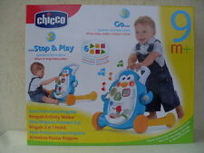 nino primi passi pinguino penguin activity walker primeros pasos 9m chicco 65262