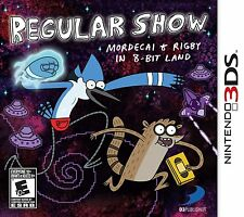Regular Show: Mordecai & Rigby in 8-Bit Land  (Nintendo 3DS, 2013)