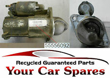 Vauxhall Astra Mk5 1.6 - Starter Motor For Automatic Models - 55556092