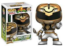 Power Rangers - White Ranger Action Pose Pop! Vinyl Figure