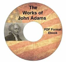 JOHN ADAMS COLLECTION-CD PDF-USA-American History-Kindle-iPhone Droid Compatible