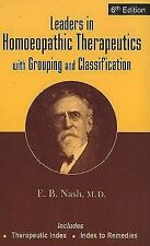 Leaders in Homoeopathic Therapeutics, Eugene Beauharis Nash, Very Good Book