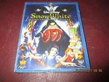 DISNEY SNOW WHITE AND THE SEVEN DWARFS  (Blu-ray+DVD)  NEW Authentic U.S. Item