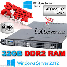 "DELL POWEREDGE 1950 III 2x 2.83 GHz E5440 QUAD CORE 32GB DDR2 (2x 3.5"" 146GB SAS"