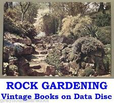 Rock Gardening rocaille alpin collection 18 Vintage Jardin des livres sur un Data Disc