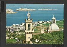 Colour Postcard St.Paul's Bay From Wardija Heights  Malta posted 1973