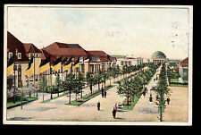 1914 exposition Books Graphic Leipzig Germany advertising postcard