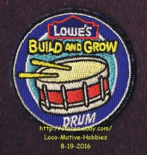 LMH PATCH Badge SNARE DRUM Side Field March Band LOWES Build Grow Project Series