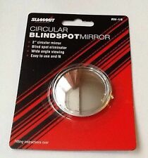 "SUMMIT BLIND SPOT MIRROR ROUND ADHESIVE  2"" INCH EASY FIT WIDE ANGLE RV16"